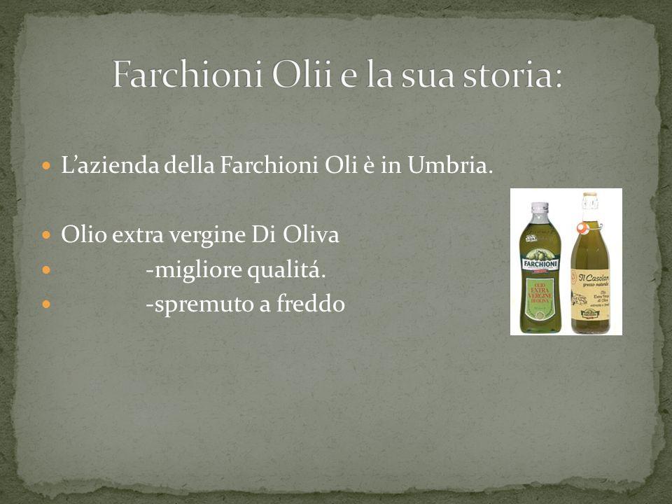 Farchioni Olii e la sua storia: