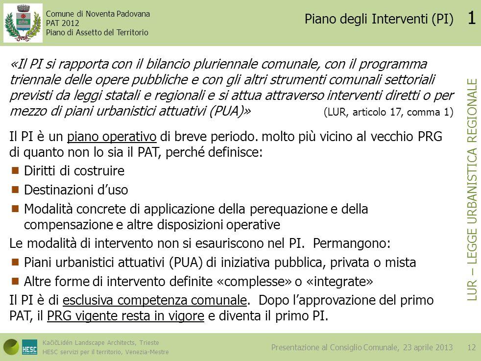 Piano degli Interventi (PI)