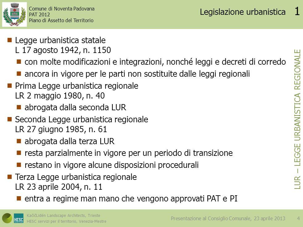 Legislazione urbanistica