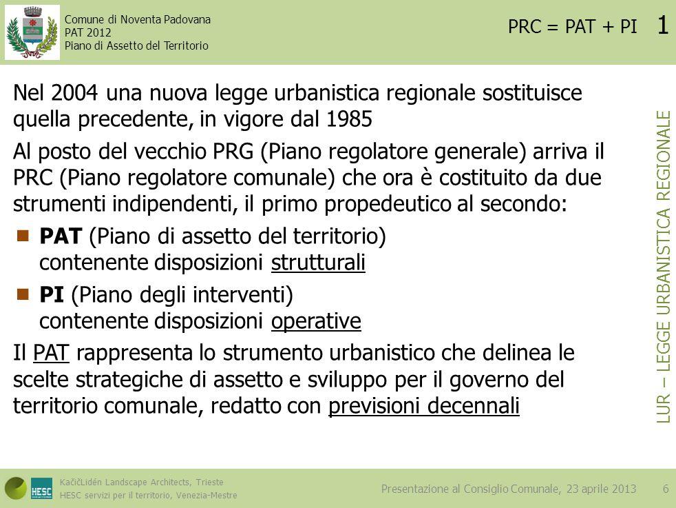 LUR – Legge Urbanistica Regionale