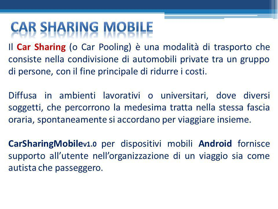 Car sharing mobile