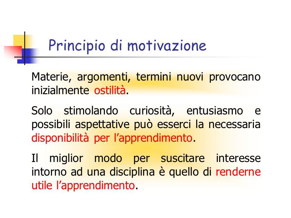 Principio di motivazione