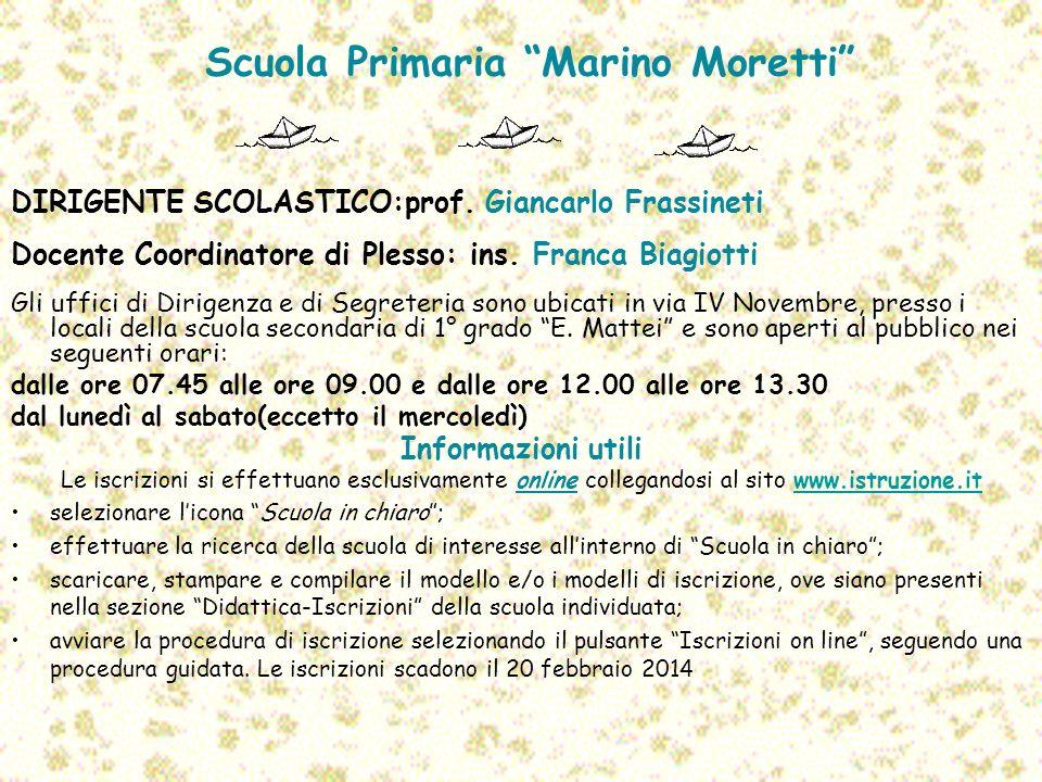 Scuola Primaria Marino Moretti