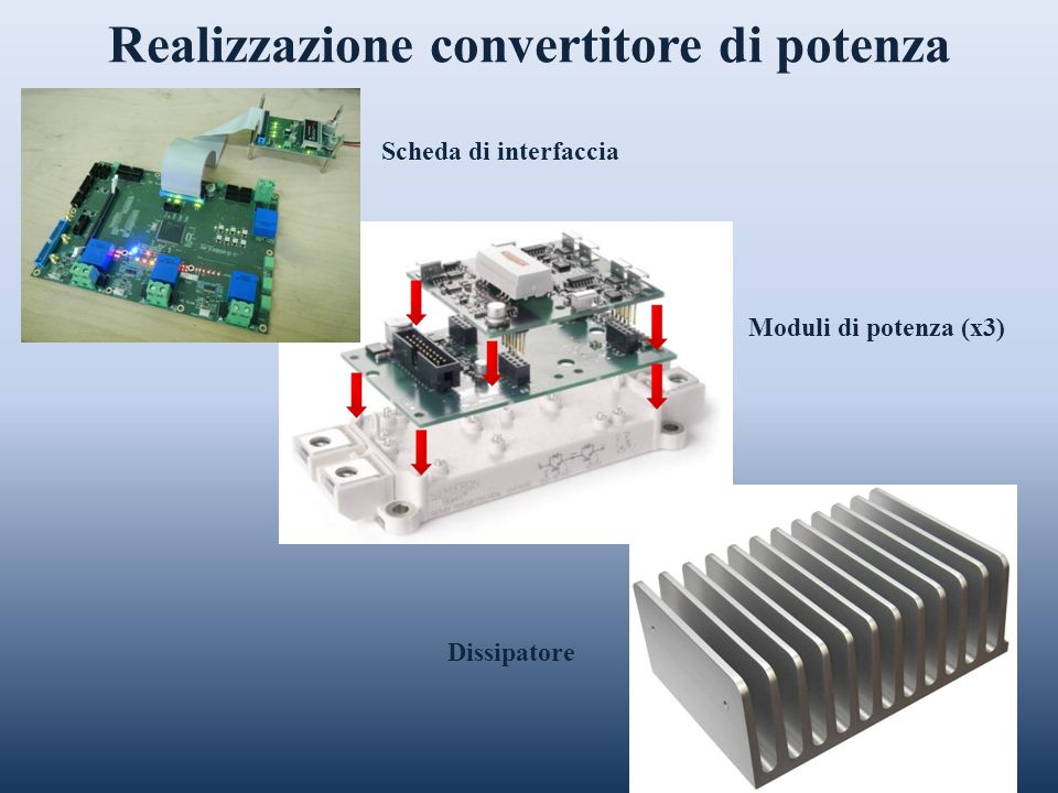 Realizzazione convertitore di potenza
