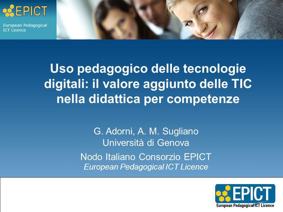 Uso pedagogico delle tecnologie digitali: il valore aggiunto delle TIC nella didattica per competenze