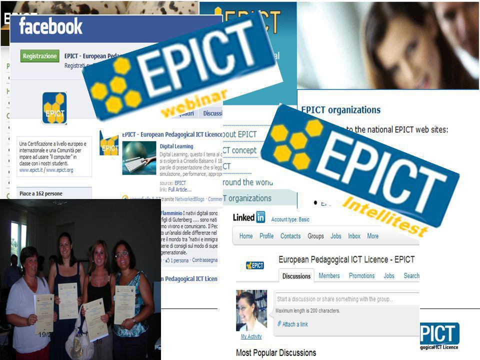 Discussioni sul gruppo EPICT di Facebook