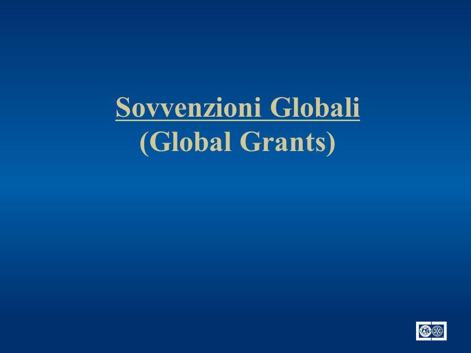 Sovvenzioni Globali (Global Grants)