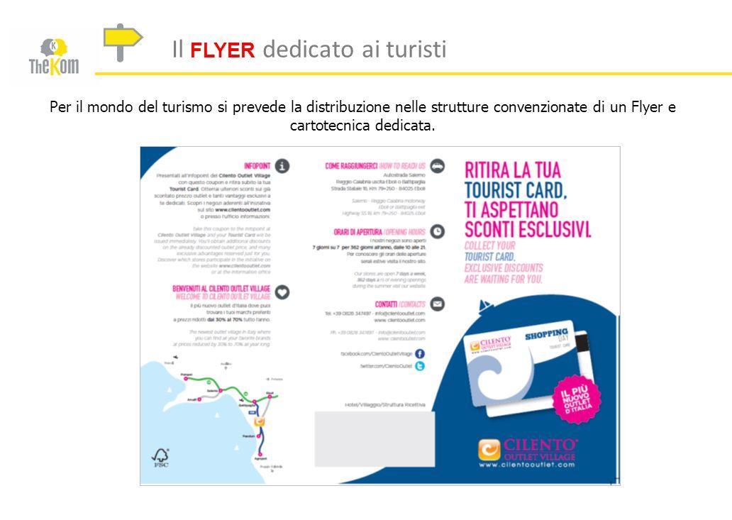 Il FLYER dedicato ai turisti