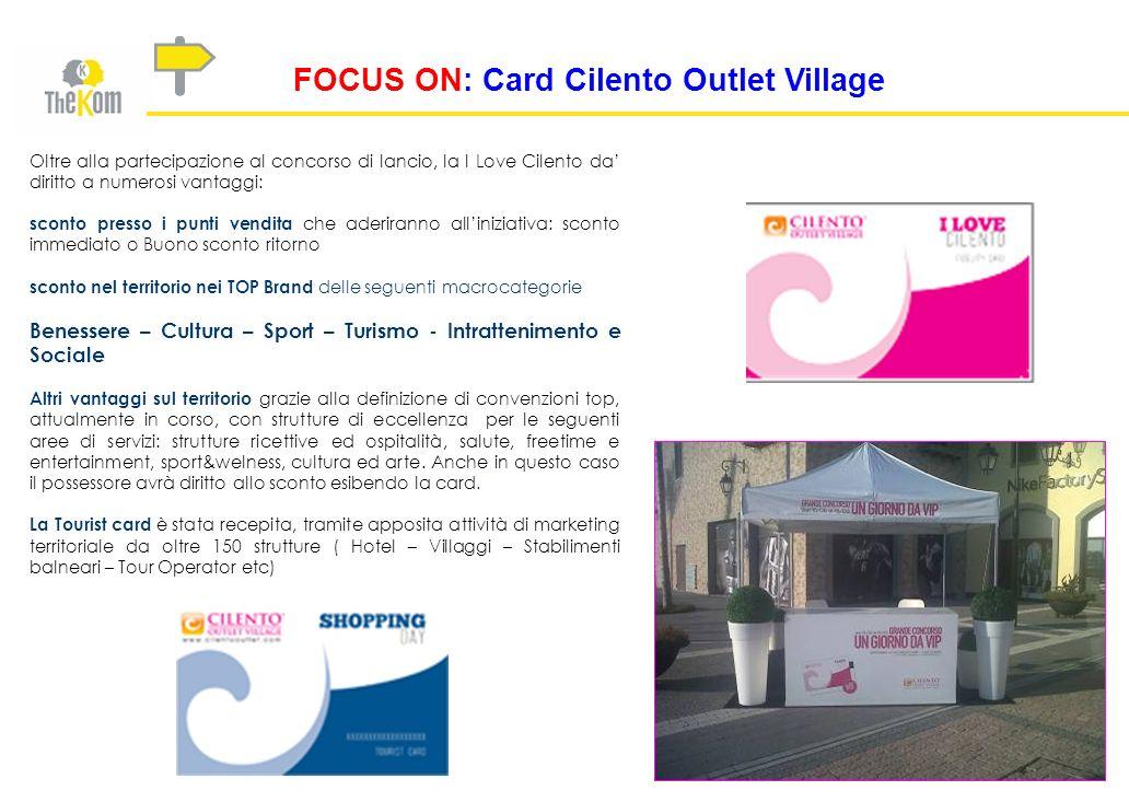 FOCUS ON: Card Cilento Outlet Village