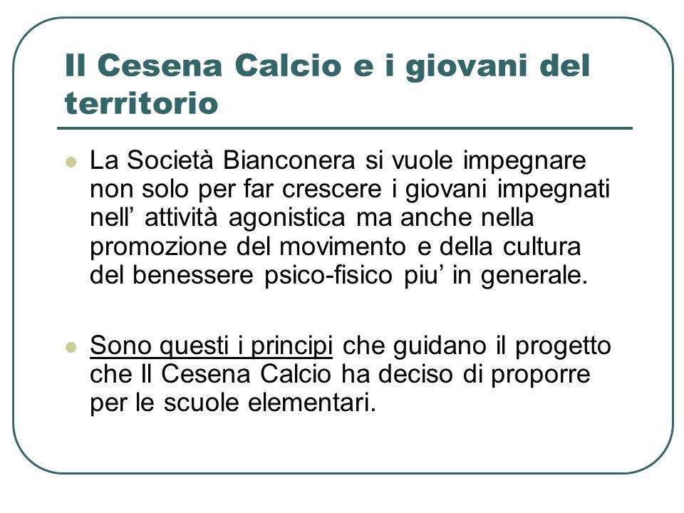 Il Cesena Calcio e i giovani del territorio