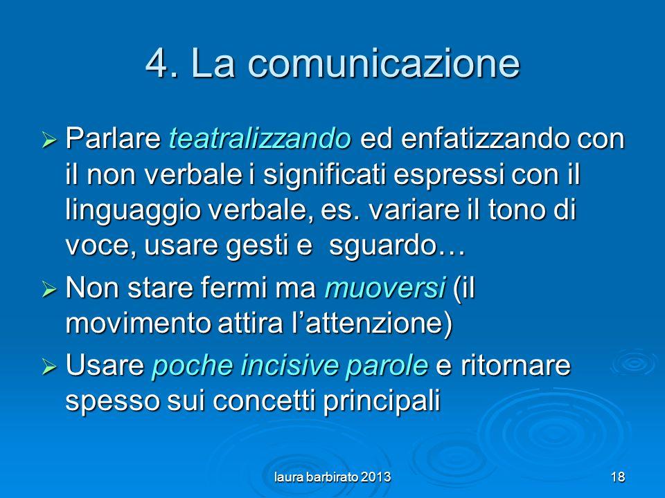 4. La comunicazione