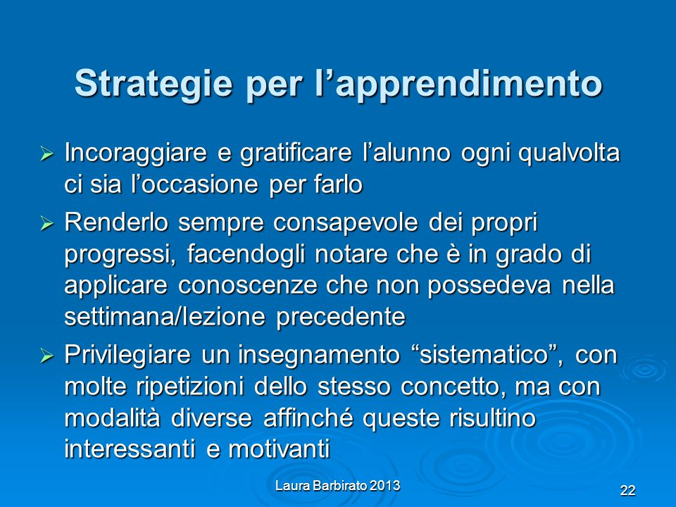 Strategie per l'apprendimento