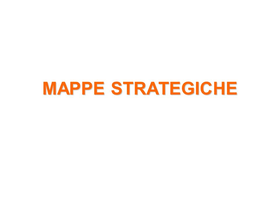MAPPE STRATEGICHE