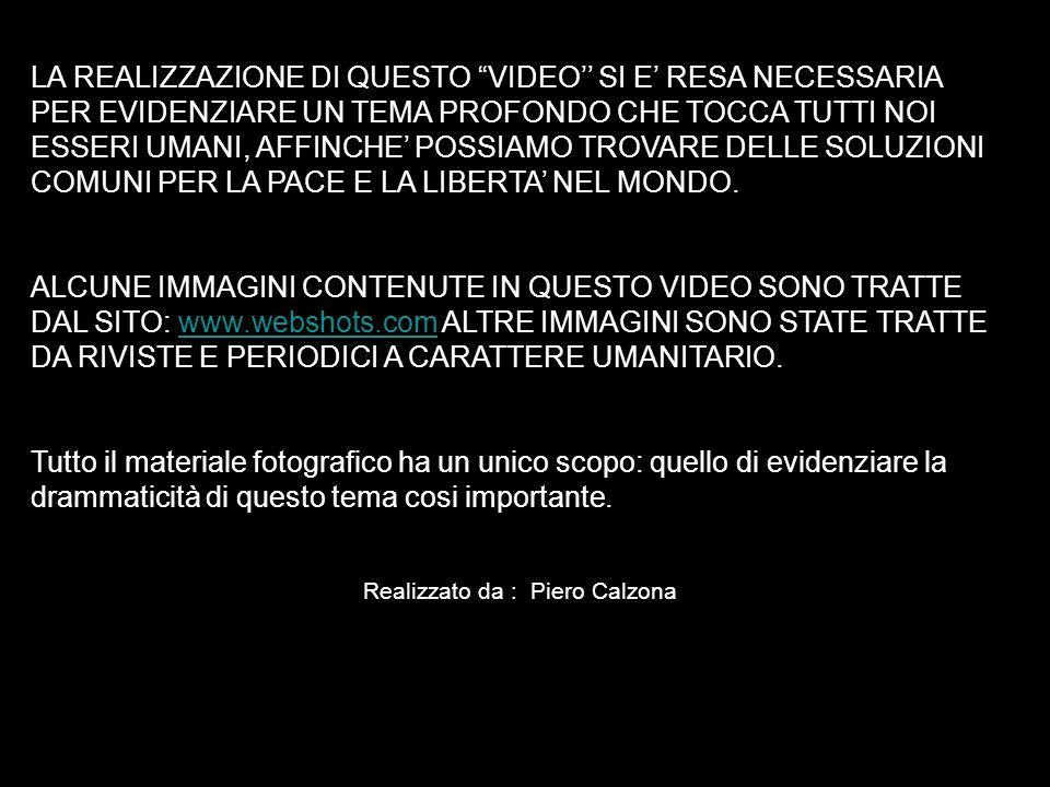 Realizzato da : Piero Calzona