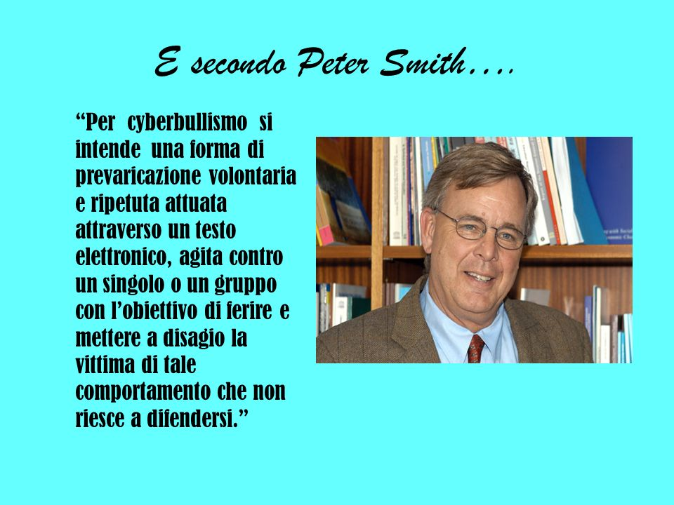 E secondo Peter Smith….