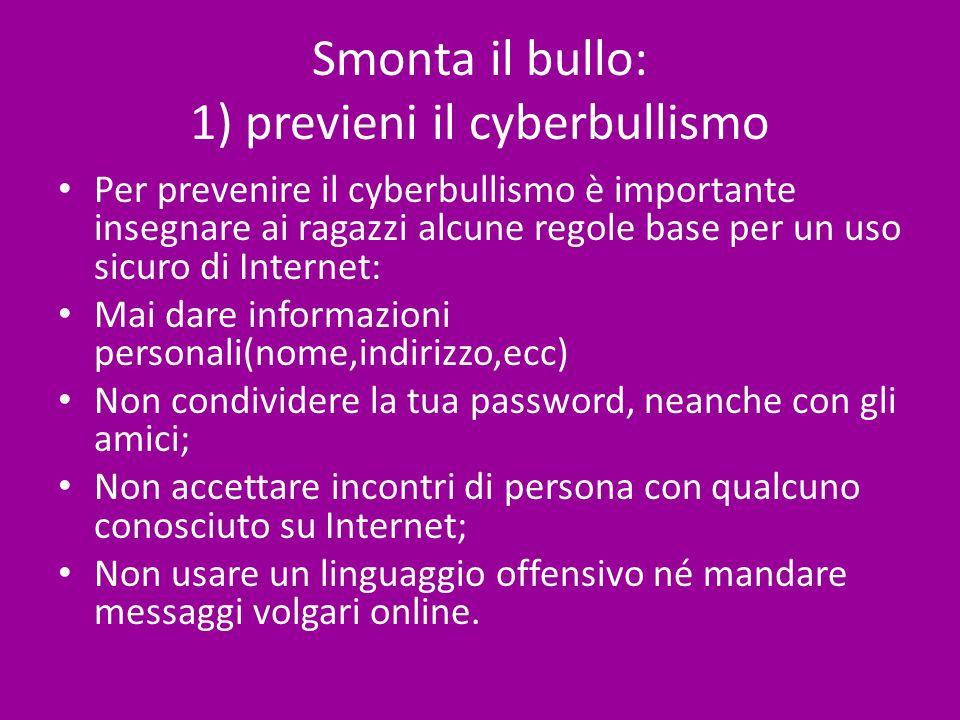 Smonta il bullo: 1) previeni il cyberbullismo