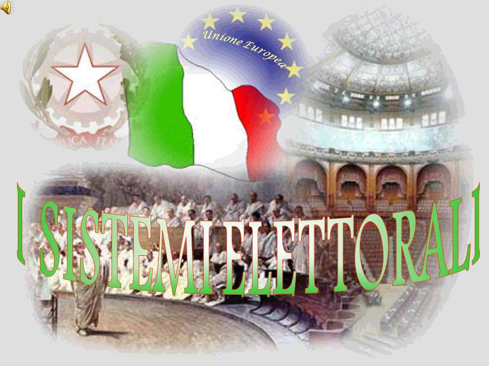 Unione Europea I SISTEMI ELETTORALI