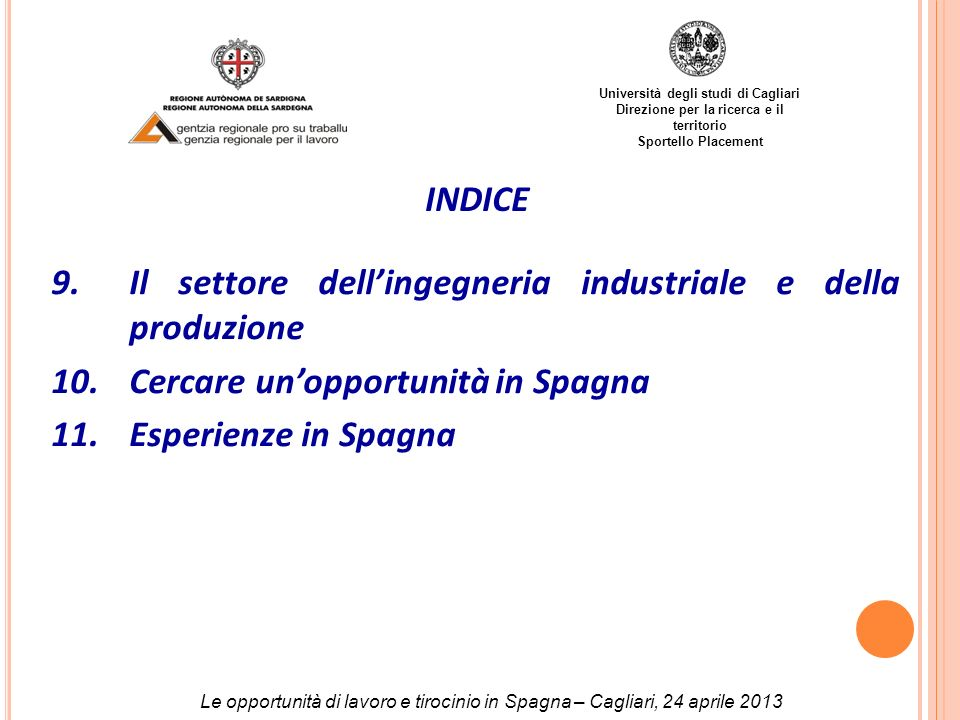 Il settore dell'ingegneria industriale e della produzione