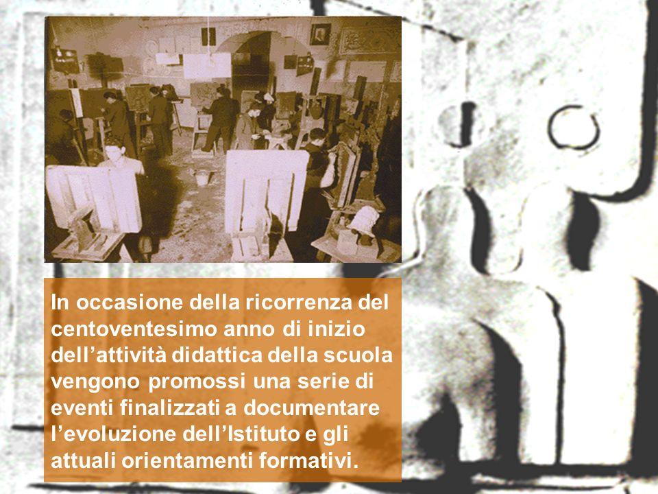 In occasione della ricorrenza del centoventesimo anno di inizio dell'attività didattica della scuola vengono promossi una serie di eventi finalizzati a documentare l'evoluzione dell'Istituto e gli attuali orientamenti formativi.