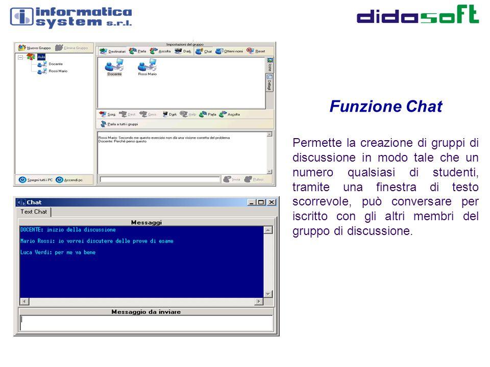 Funzione Chat