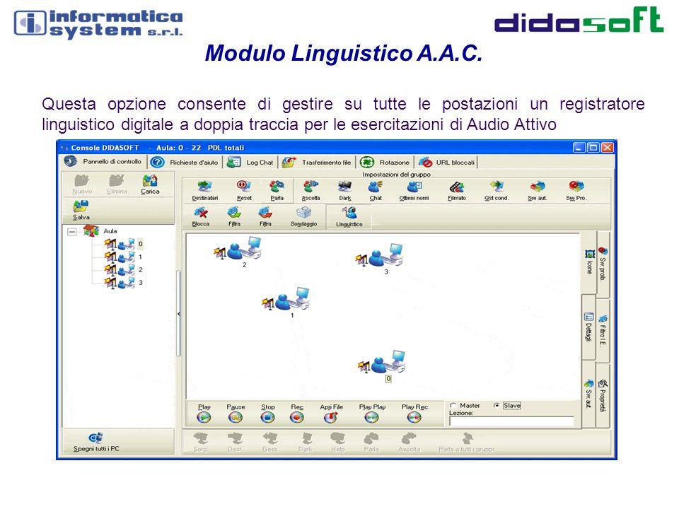 Modulo Linguistico A.A.C.
