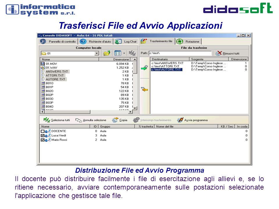 Distribuzione File ed Avvio Programma