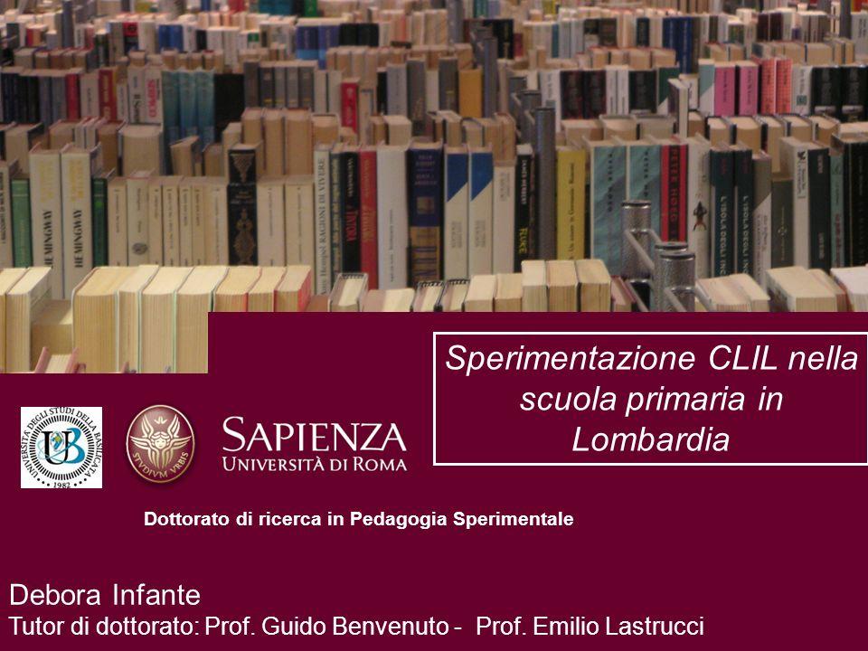 Sperimentazione CLIL nella scuola primaria in Lombardia