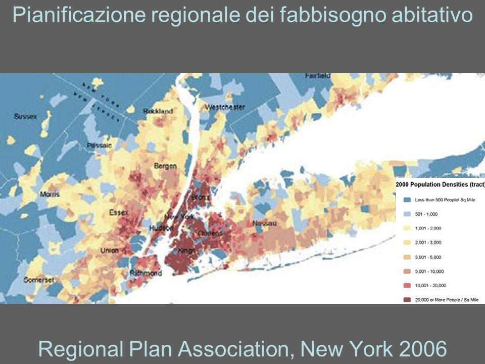 Pianificazione regionale dei fabbisogno abitativo