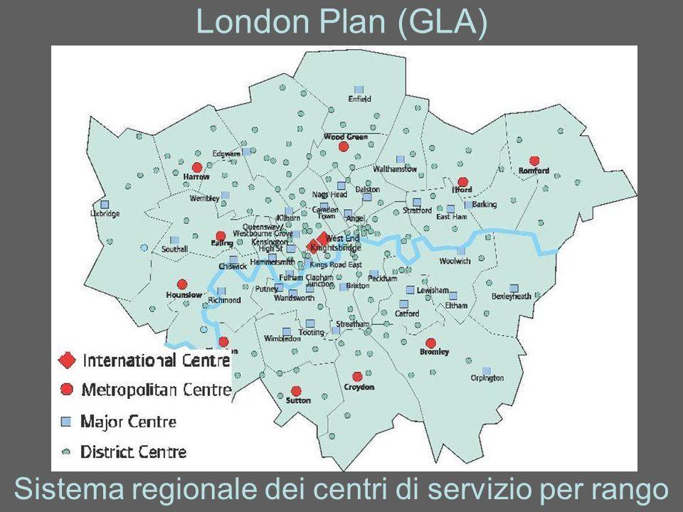 Sistema regionale dei centri di servizio per rango