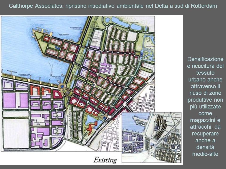 Calthorpe Associates: ripristino insediativo ambientale nel Delta a sud di Rotterdam