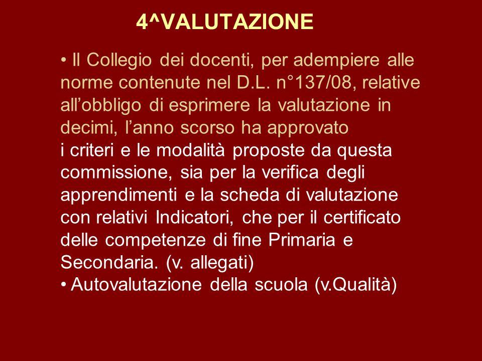 4^VALUTAZIONE