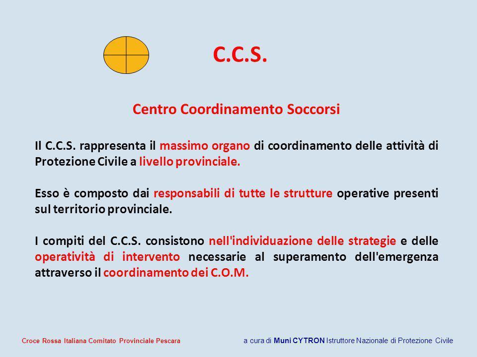 Centro Coordinamento Soccorsi