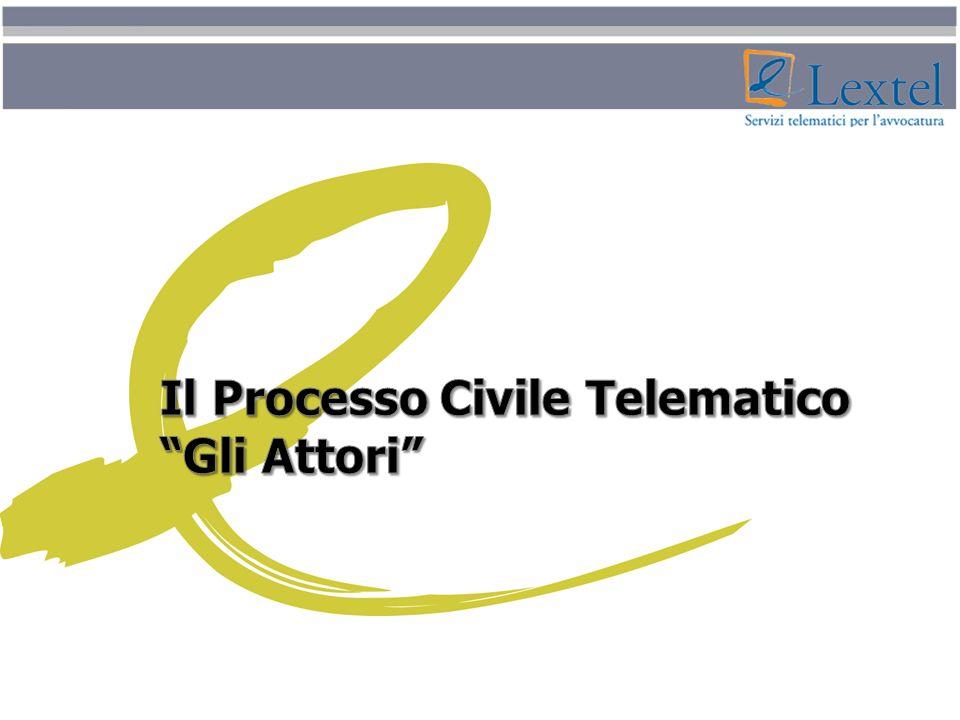 Il Processo Civile Telematico Gli Attori