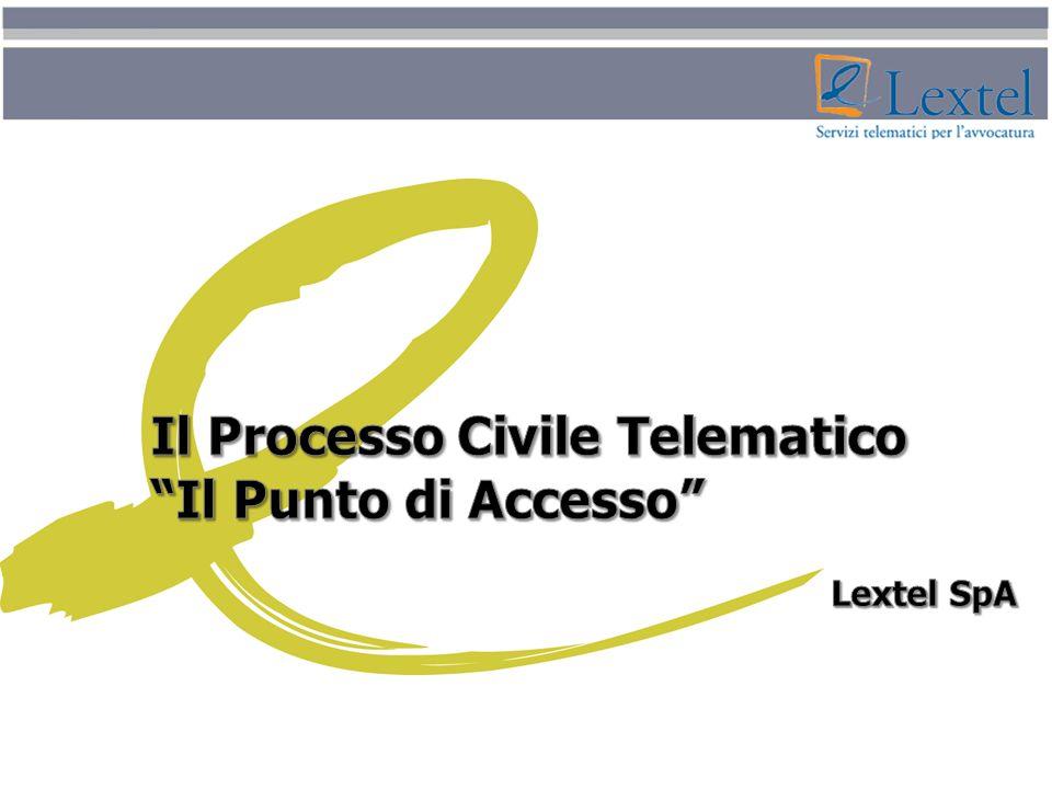 Il Processo Civile Telematico Il Punto di Accesso