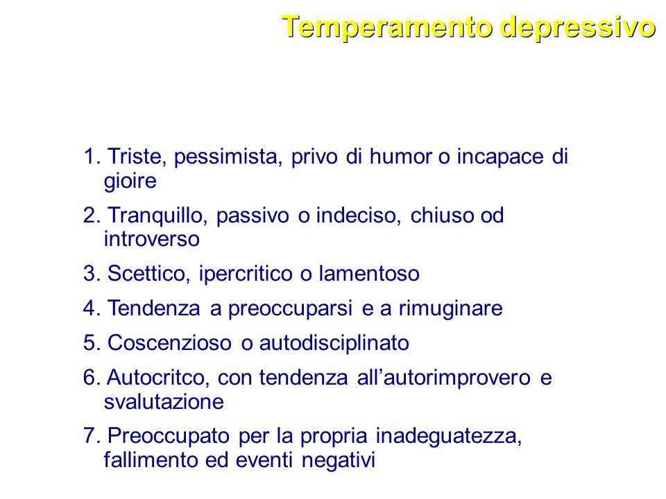 Temperamento depressivo
