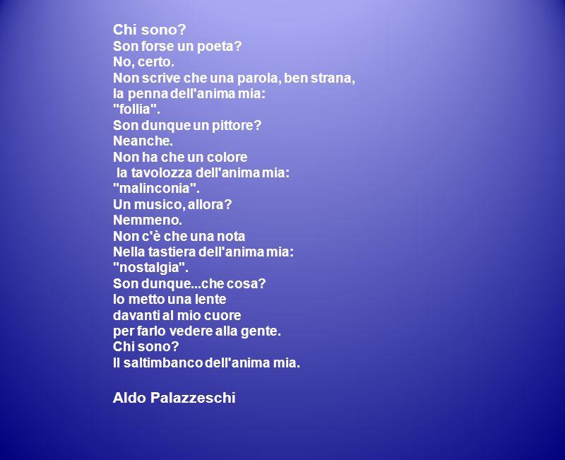 Chi sono Aldo Palazzeschi