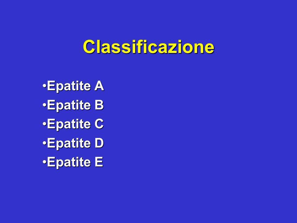 Epatite A Epatite B Epatite C Epatite D Epatite E