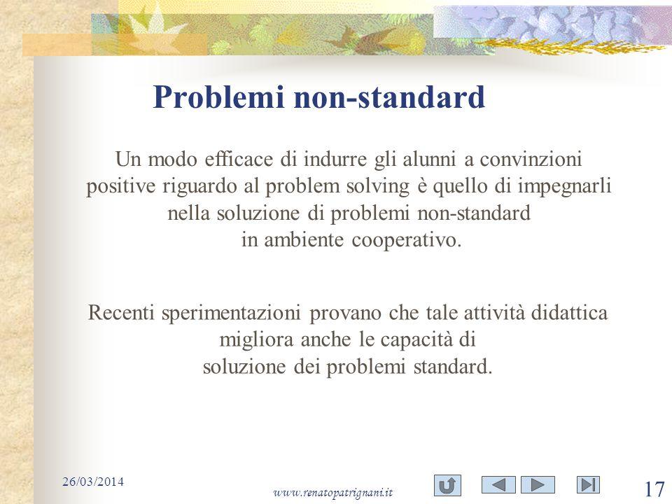 Problemi non-standard