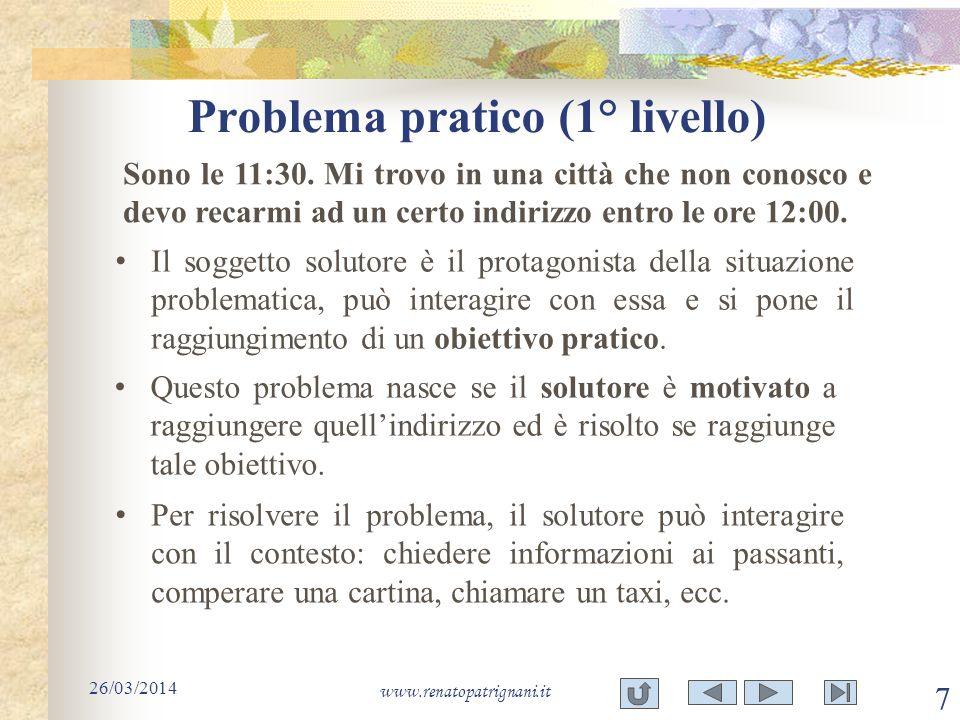 Problema pratico (1° livello)