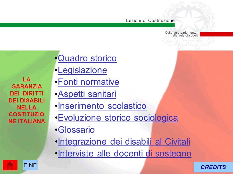 LA GARANZIA DEI DIRITTI DEI DISABILI NELLA COSTITUZIONE ITALIANA