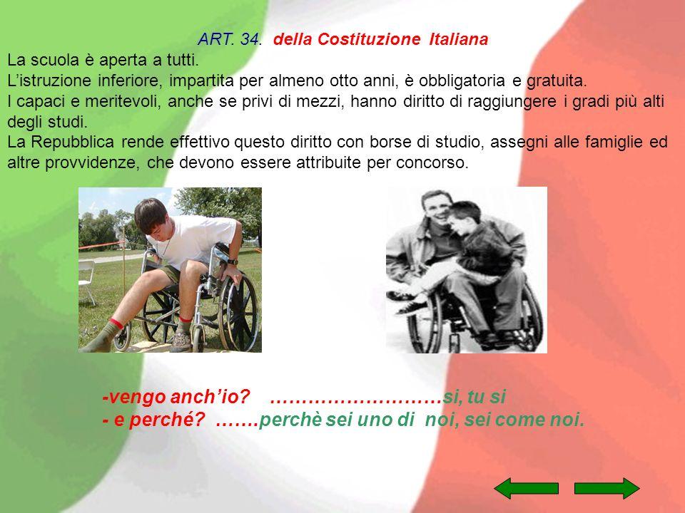 ART. 34. della Costituzione Italiana