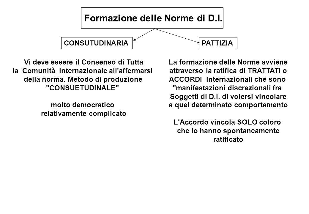 Formazione delle Norme di D.I.