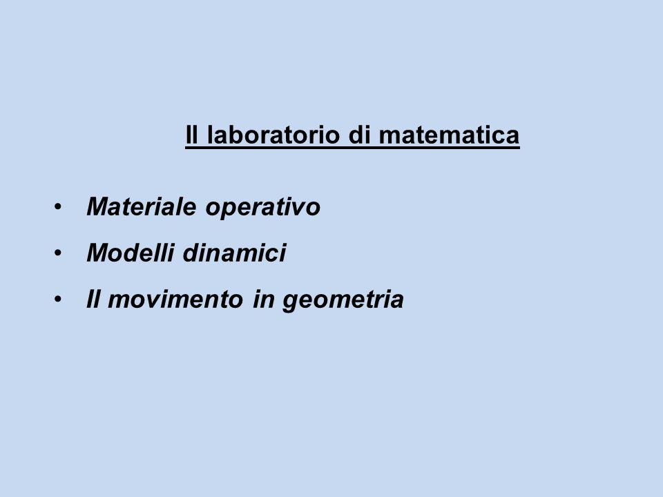 Il laboratorio di matematica