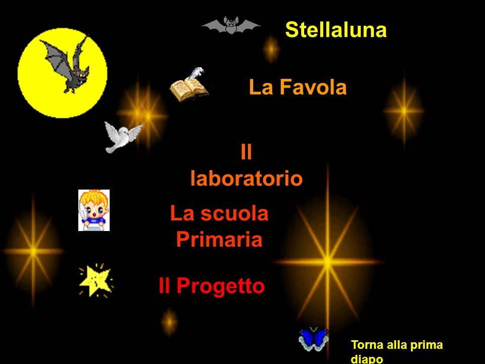 Stellaluna La Favola Il laboratorio La scuola Primaria Il Progetto