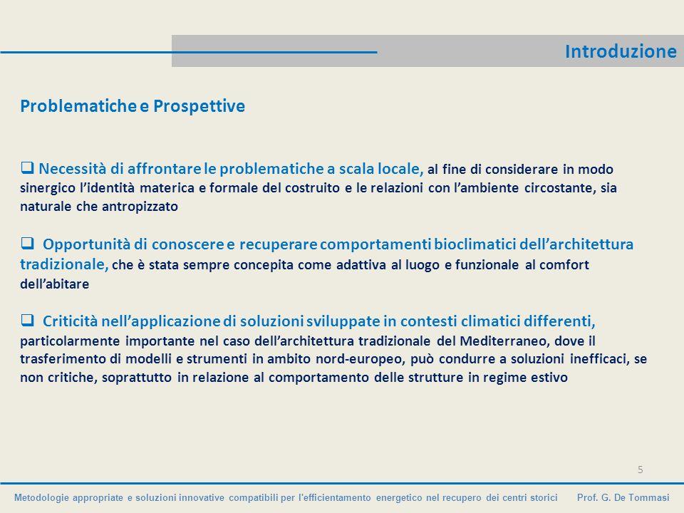 Introduzione Problematiche e Prospettive