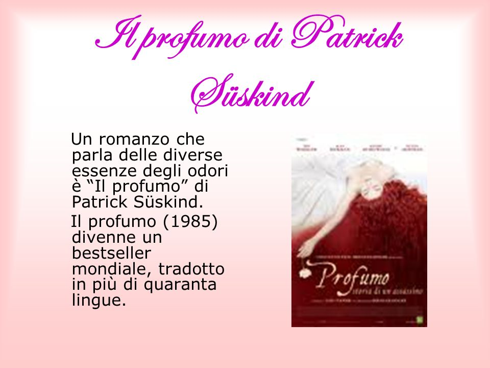Il profumo di Patrick Süskind