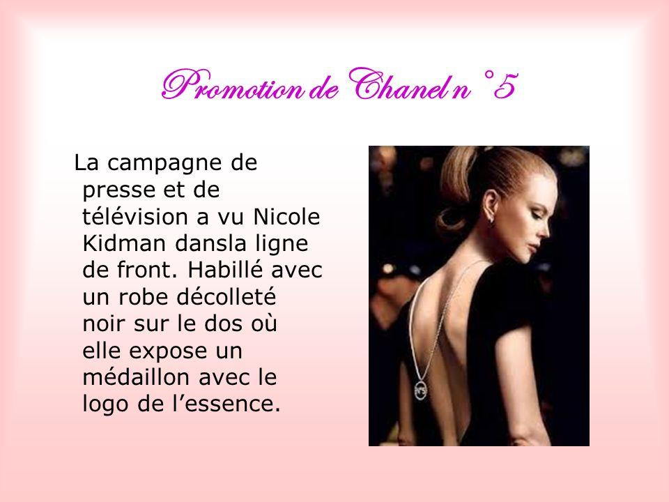 Promotion de Chanel n°5