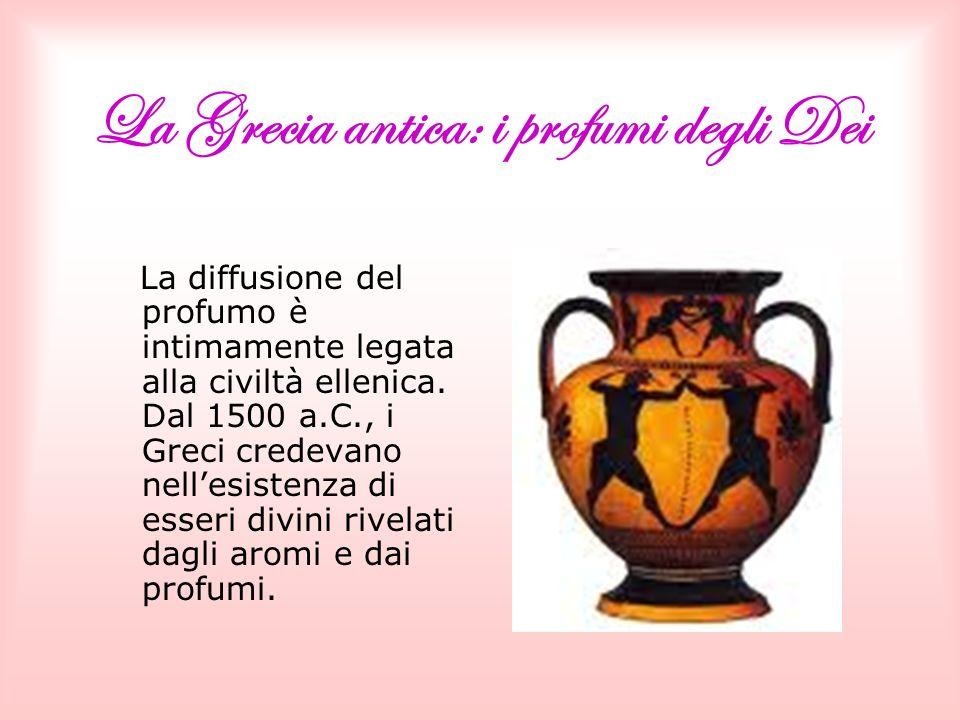 La Grecia antica: i profumi degli Dei
