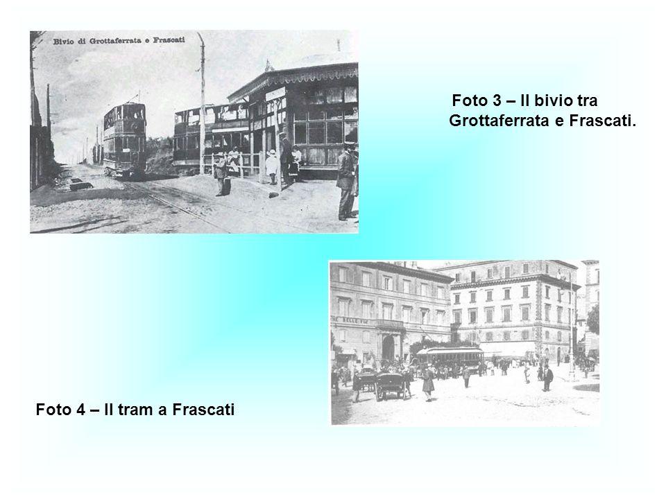 Foto 3 – Il bivio tra Grottaferrata e Frascati.