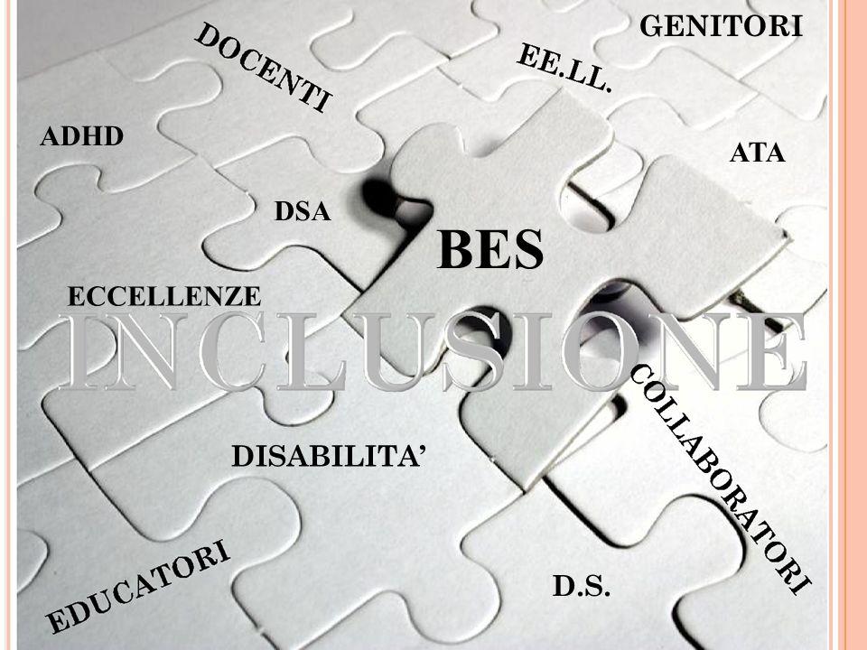 GENITORI ADHD ATA DSA BES ECCELLENZE DISABILITA' D.S.